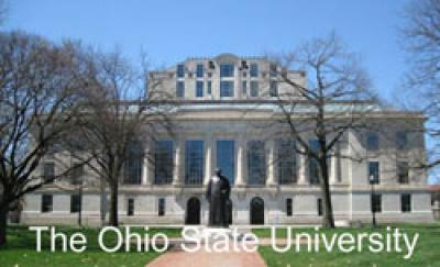 Thompson Library, at the Ohio State University.